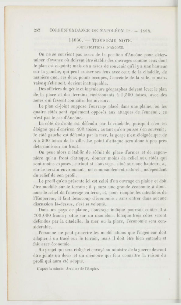 Correspondance de Napoléon Ier. Tome 8 -